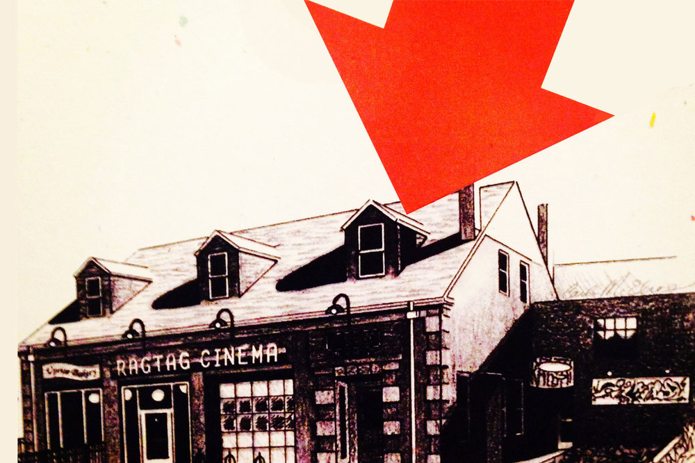 We're located next to Ragtag Cinema & Uprise Bakery!