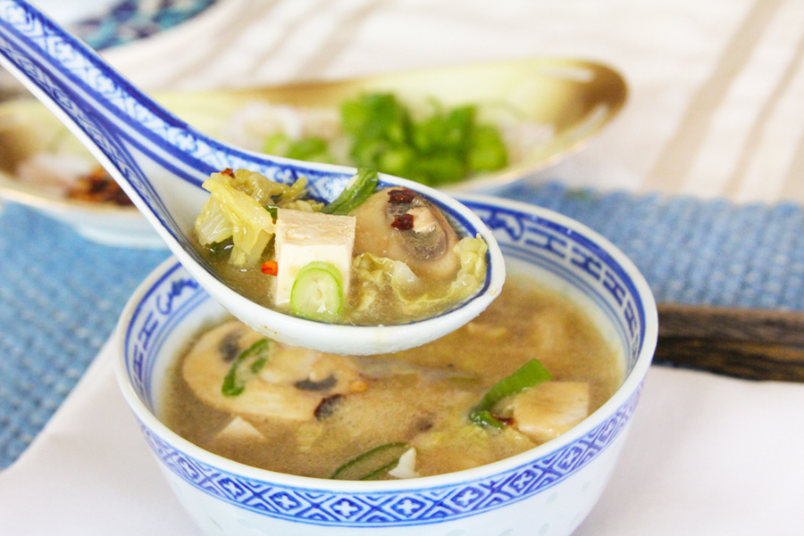 Plant Based Hot & Sour Soup.