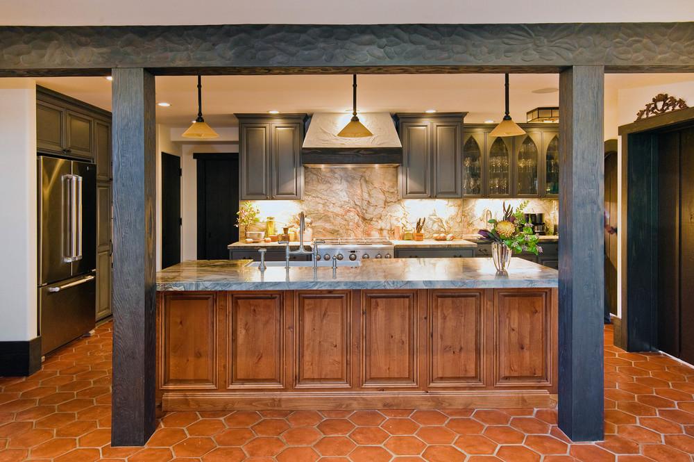 Berkeley Hills Storybook Kitchen