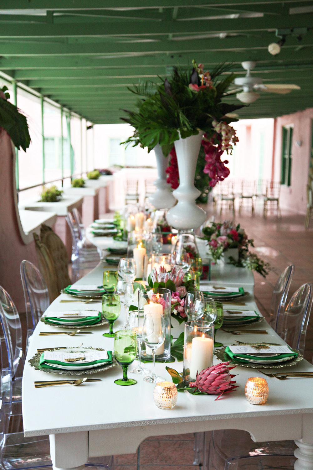 Tropical Pink and Green Reception Setting.jpg