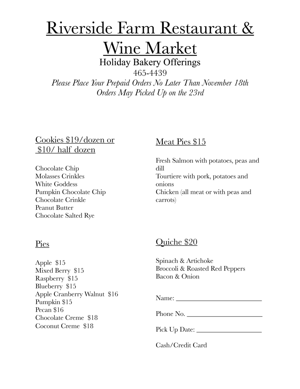 News Riverside Farm Market – Step 10 Aa Worksheet