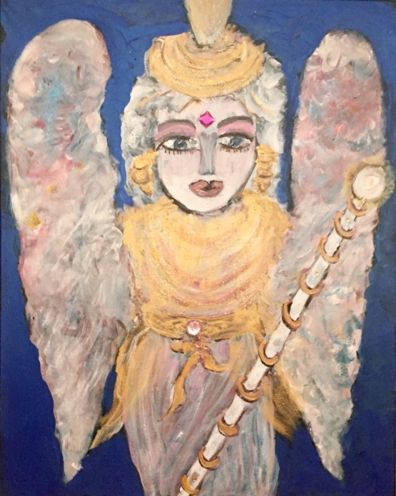 GUARDIAN ANGEL 24 X 30                Mixed Media                    $1450