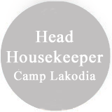 This Could Be You Head Housekeepr Camp Lakodia