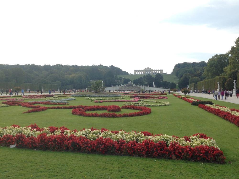 Schönbrunn Palace Gardens Vienna, Austria