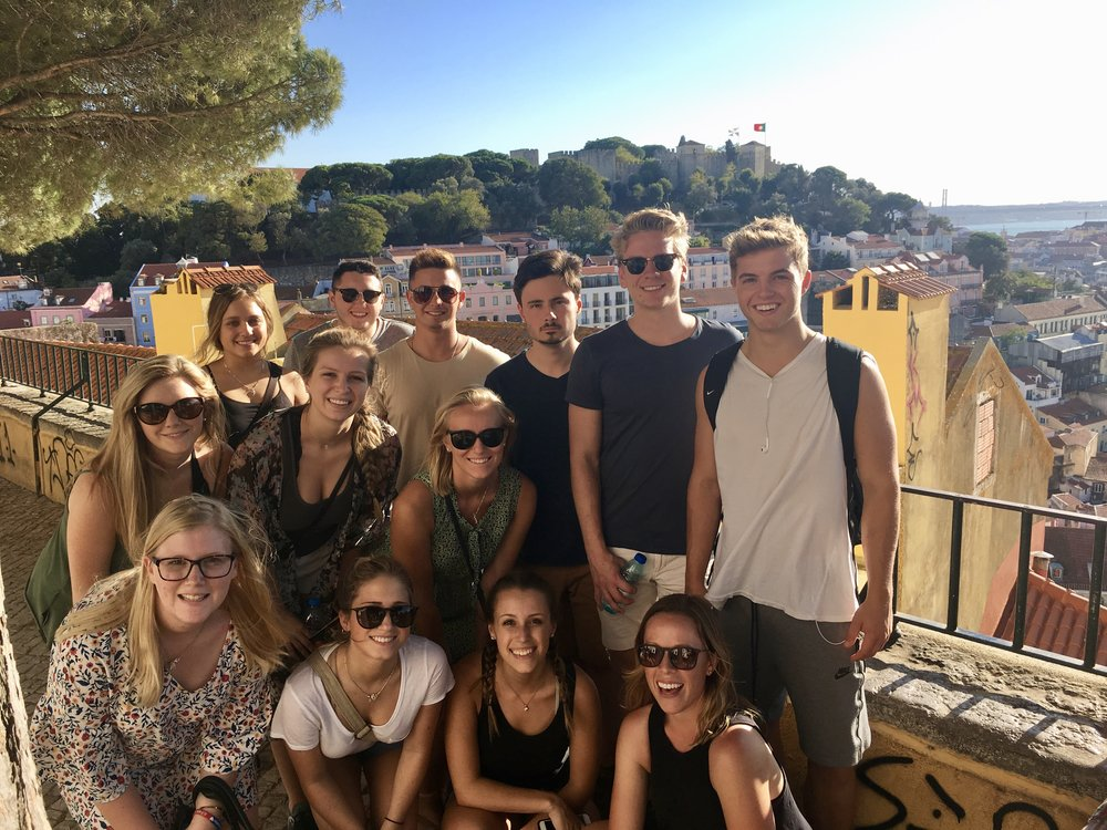 2017 Northwood University GROUP IN PORTUGAL
