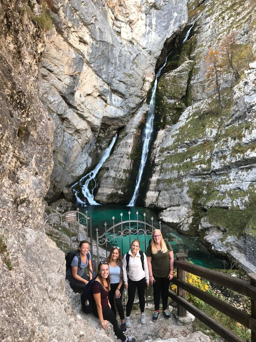 Kristin in Slovenia