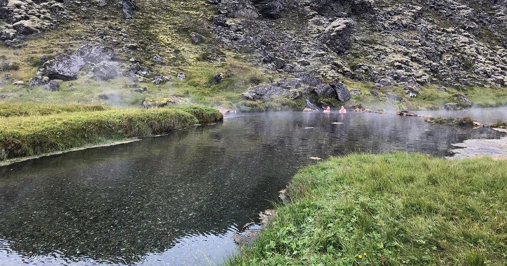Landmannalaugar Natural Hot Springs