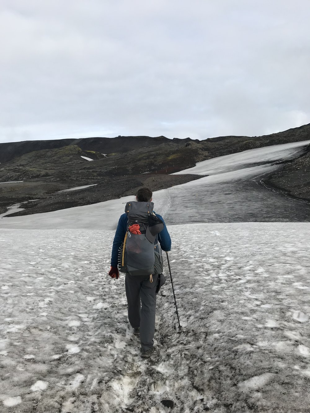 Glacier Crossing on the Fimmvorouhals Route