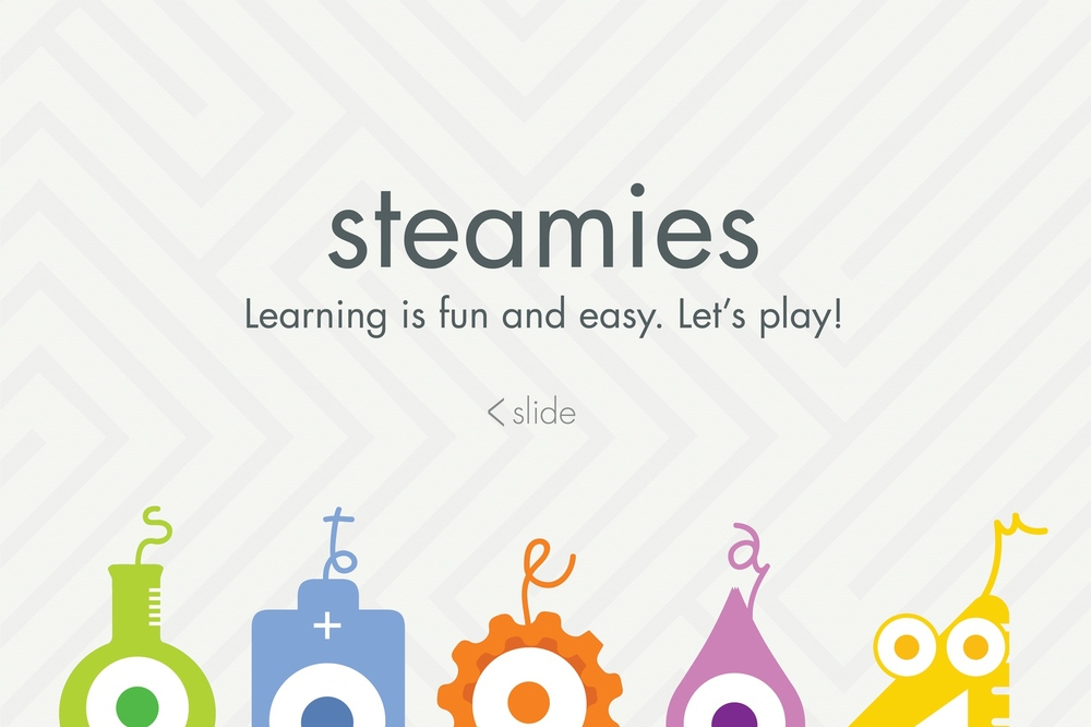 Steamies | Branding concept to advertise S.T.E.A.M education for K-12 students