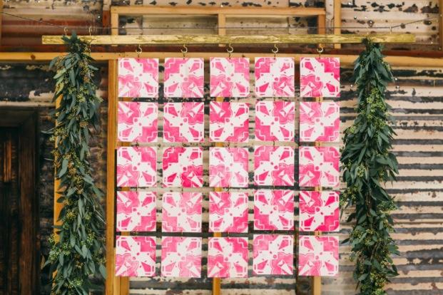 tile backdrop