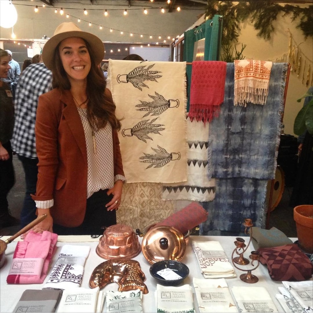 Rachel LaBarre San Diego Made Market Display