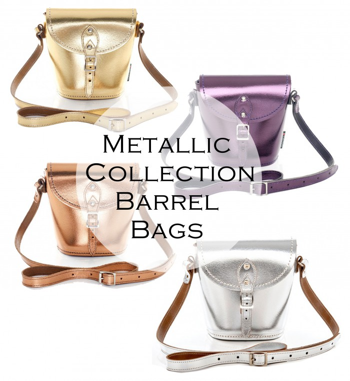 Metallic Barrel Luxury pop up