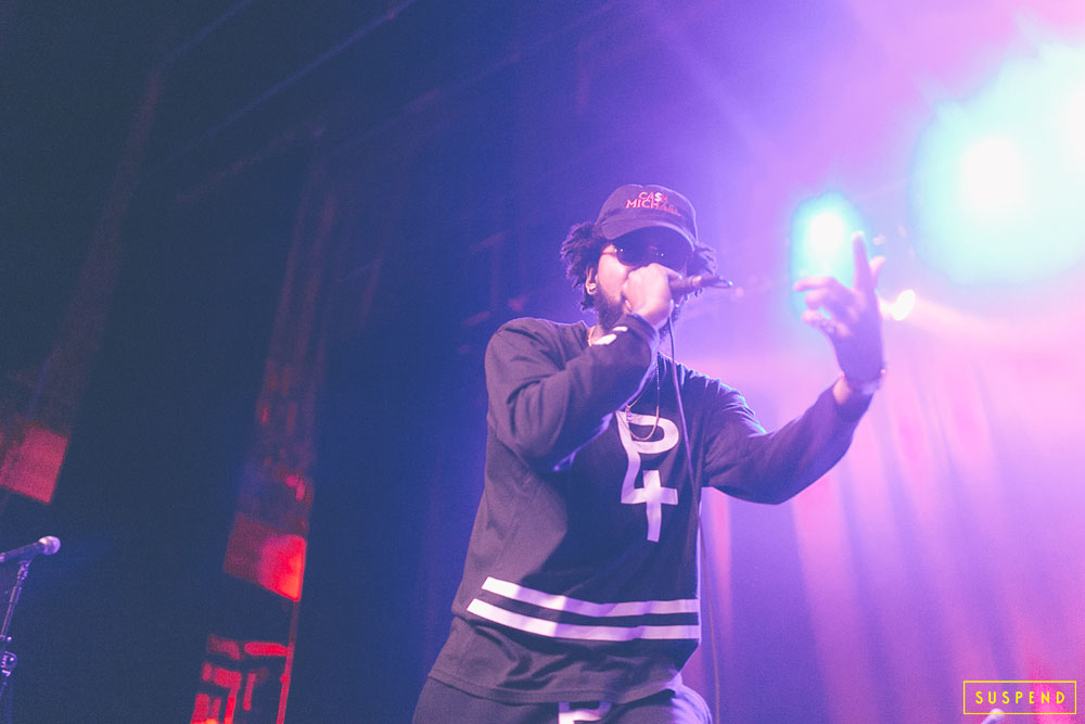 "Cashius Green AT AB-SOUL'S ""THESE DAYS TOUR"" LIVE AT THE FONDA THEATRE (10.28.14) / PHOTO © KAYLA REEFER, SUSPENDMAG.COM"