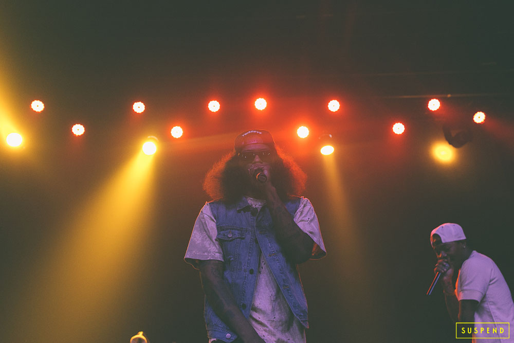 "AB-SOUL'S ""THESE DAYS TOUR"" LIVE AT THE FONDA THEATRE (10.28.14) / PHOTO © KAYLA REEFER, SUSPENDMAG.COM"