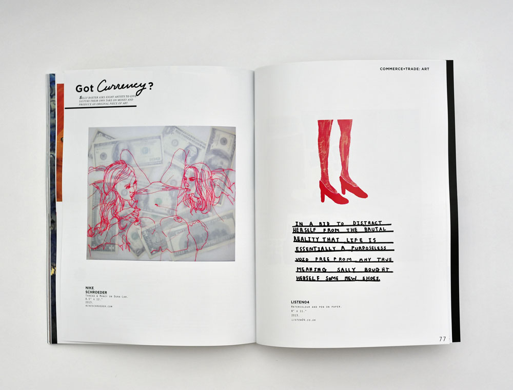 ISSUE 04: COMMERCE+TRADE / Printed in September 2013.