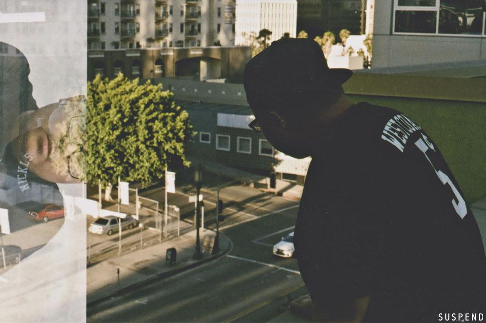 Josef Panda in Los Angeles. Photo: Akeem Brandon, SUSPENDMAG.com