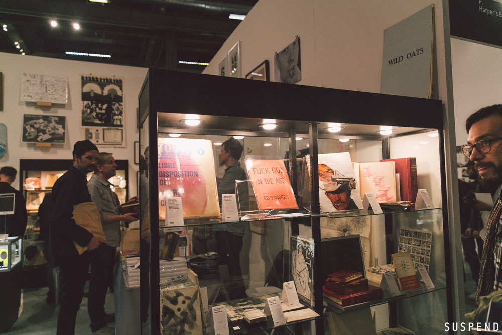 Preview Opening Night of the 2015 LA Art Book Fair / Photo: Kayla Reefer, SUSPENDMAG.com