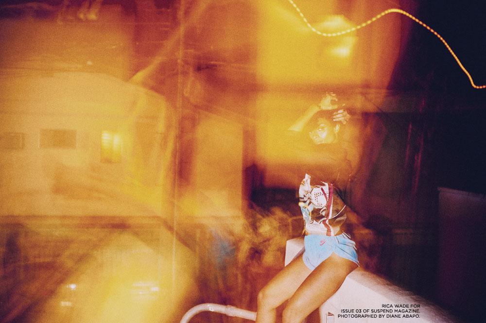 Rica Wade in ISSUE 03 / Photo: Diane Abapo, SUSPEND Magazine