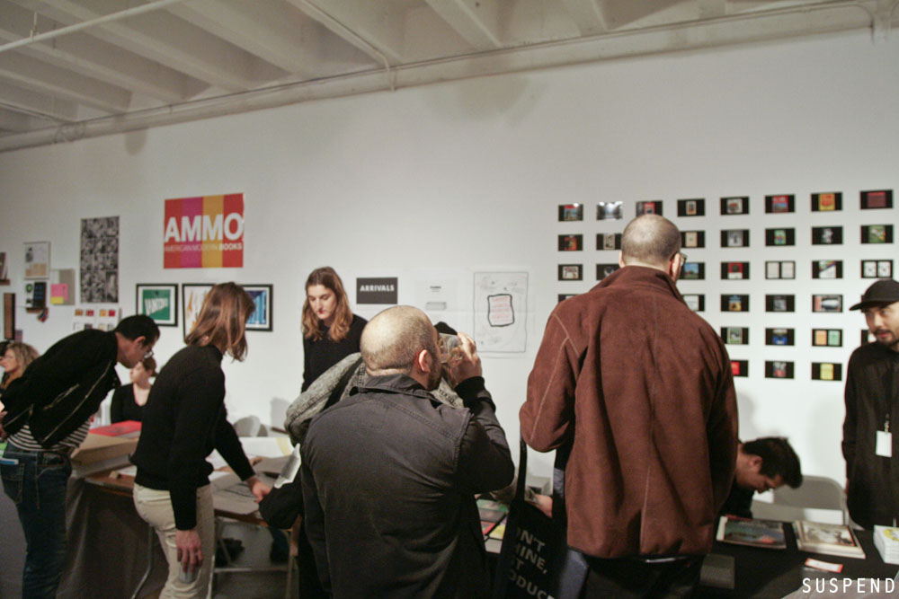 2015 LA Art Book Fair at The Geffen, MOCA / Photo: Jonathan Tate, SUSPENDMAG.com