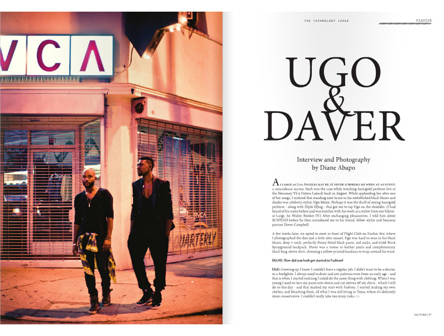 """Ugo & Daver,"" ISSUE 03."