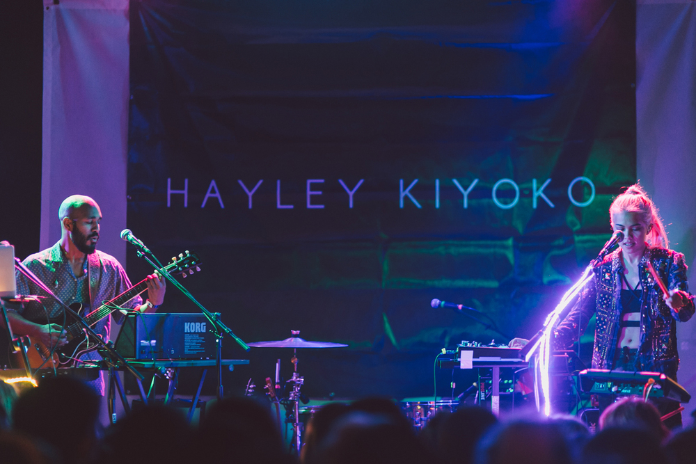 Hayley Kiyoko performs live at The Troubadour. / Photo: © Kayla Reefer for SUSPEND Magazine