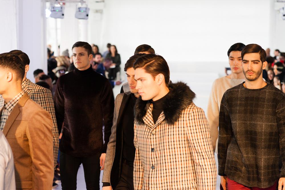 Darkoh F/W '15 Menswear  (New York) / Photo: Feather Weight.