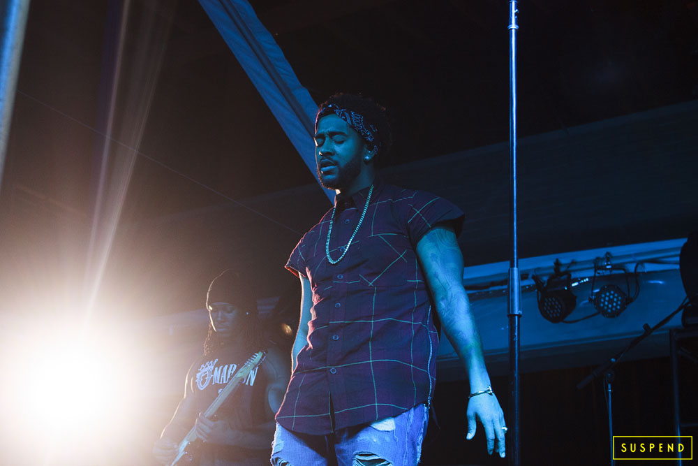 Omarion (UC Riverside) / Photo: Akeem Brandon, SUSPEND Magazine