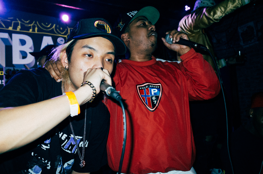 Keith Ape, TBA 2015. Photo:  Asato Iida , SUSPEND MAG.com