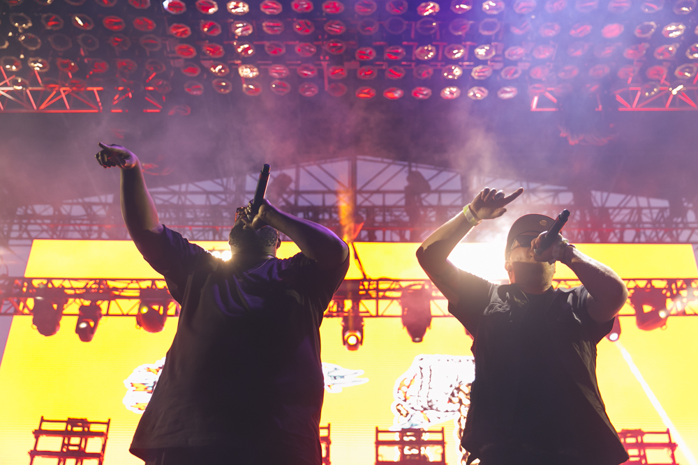 RUN THE JEWELS PERFORMS AT THE 2015 FYF FESTIVAL IN LOS ANGELES. / PHOTO © KAYLA REEFER, SUSPEND MAGAZINE