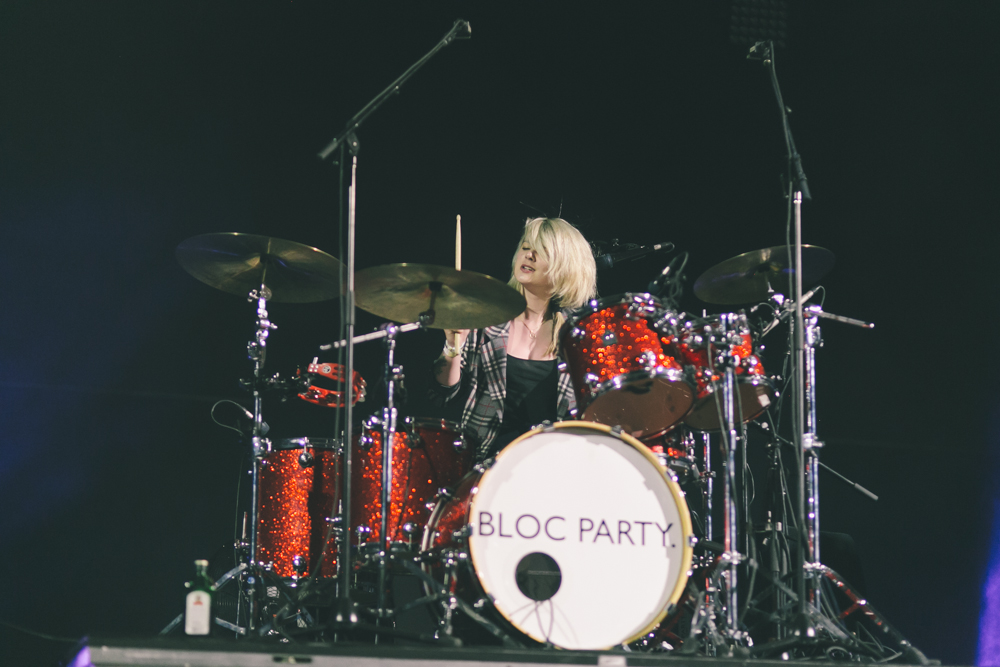 BLOC PARTY PERFORMS AT THE 2015 FYF FESTIVAL IN LOS ANGELES. / PHOTO © KAYLA REEFER, SUSPEND MAGAZINE