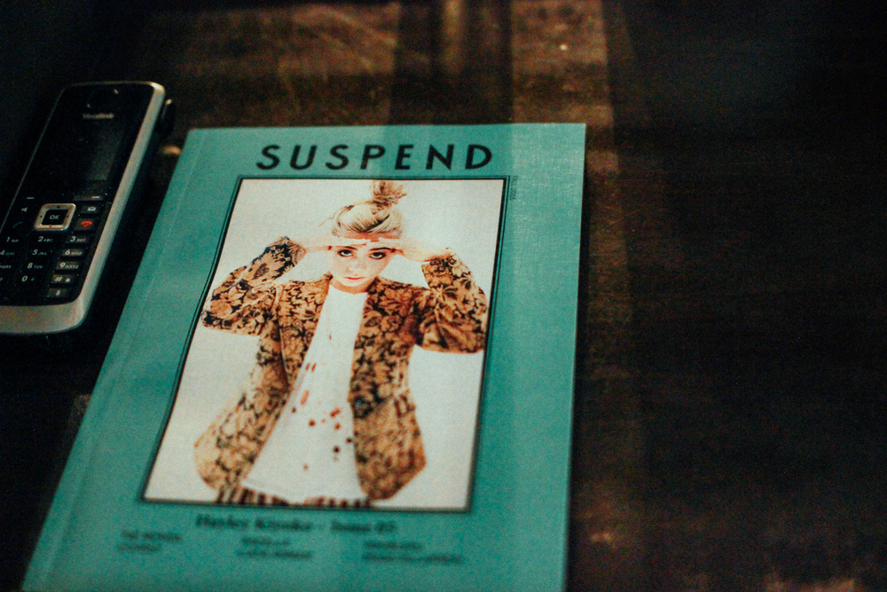 SUSPEND holds its first photography art show at Mauro's Cafe at Fred Segal on Aug 20. / Photo: © Emil Ravelo