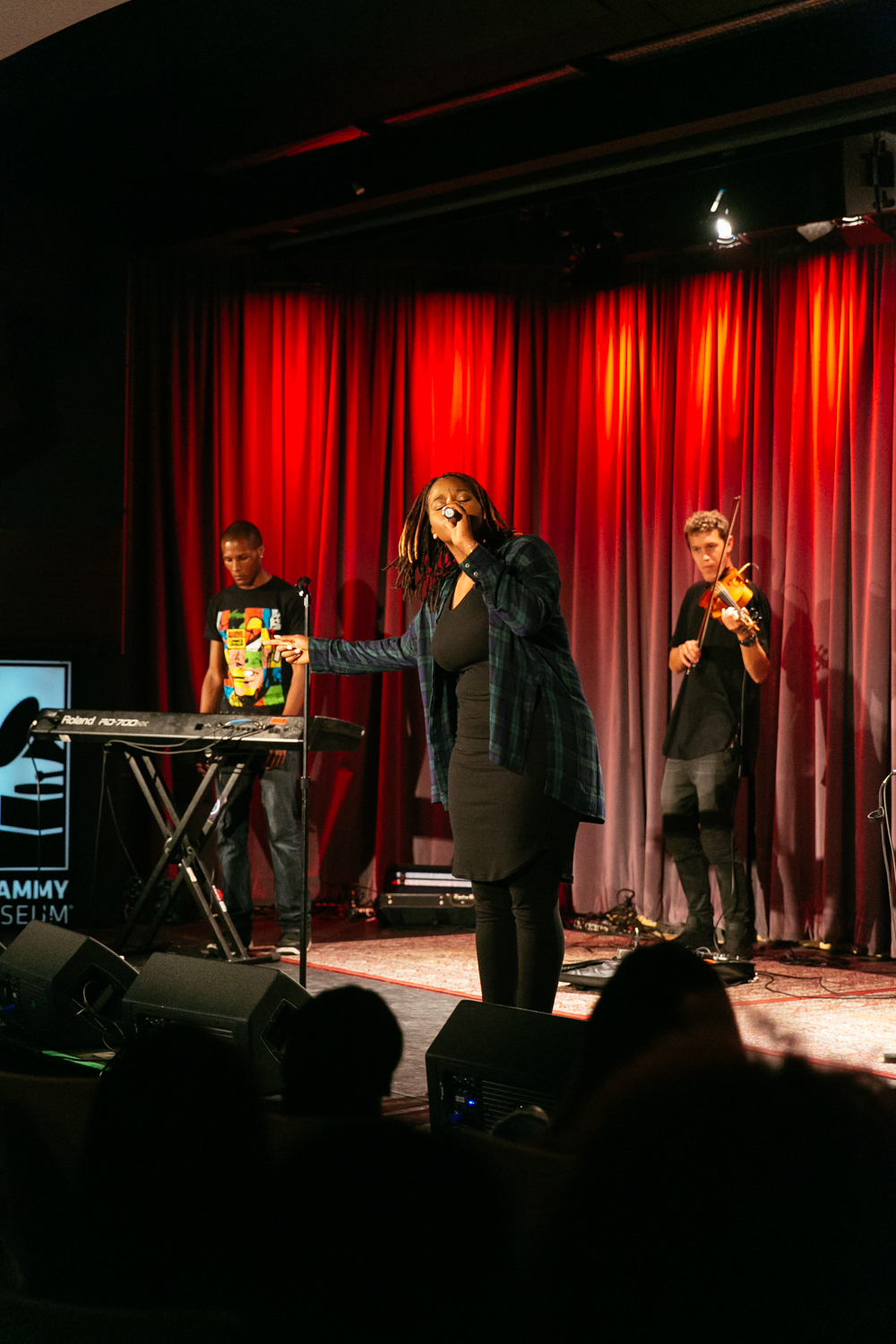 PJ performs at Blackout Music & Film Festival (Aug 29) at The GRAMMY Museum in Los Angeles.