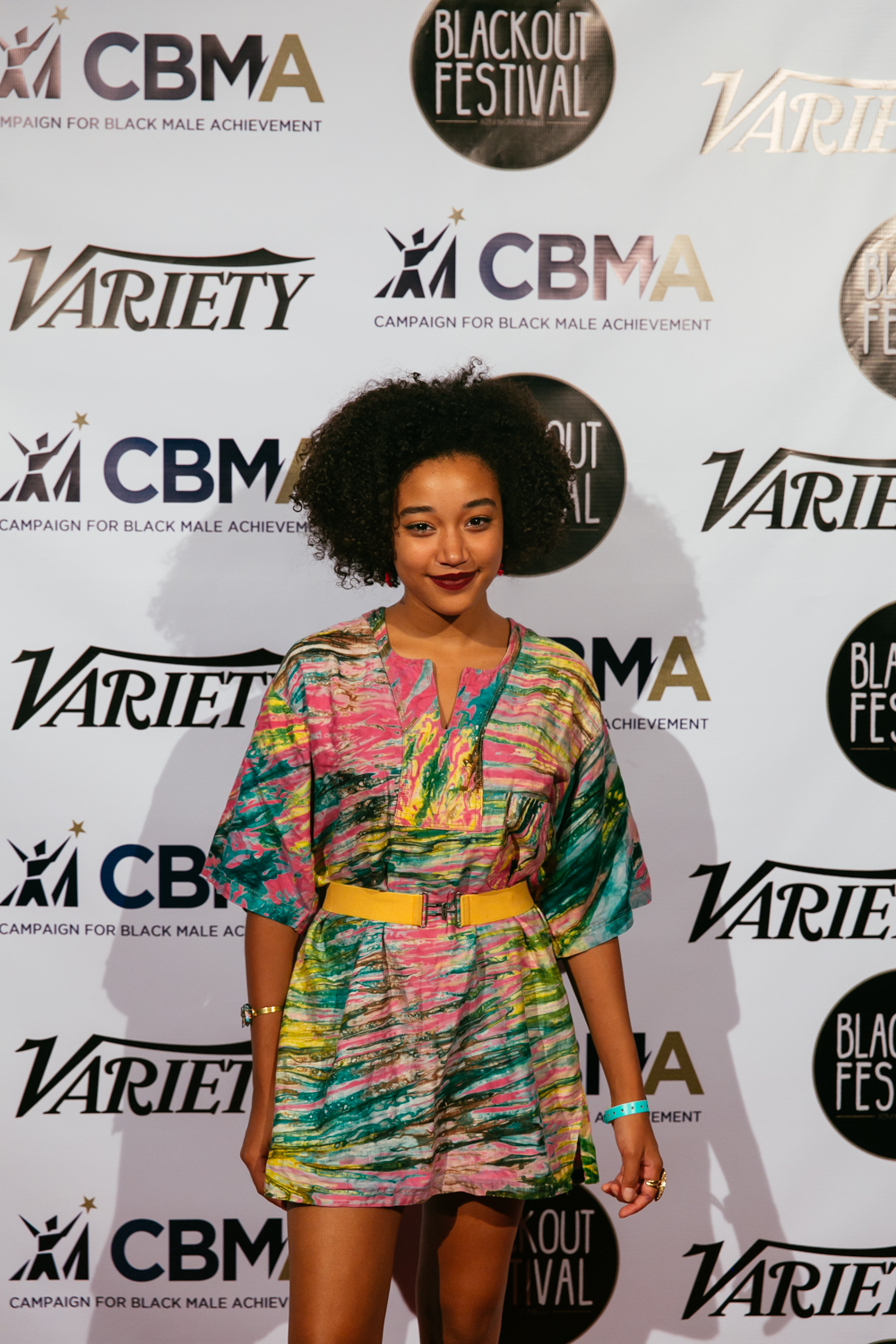 Amandla Stenberg at the Blackout Music & Film Festival (Aug 29) at The GRAMMY Museum in Los Angeles. / Photo: © Kayla Reefer, SUSPEND Magazine.