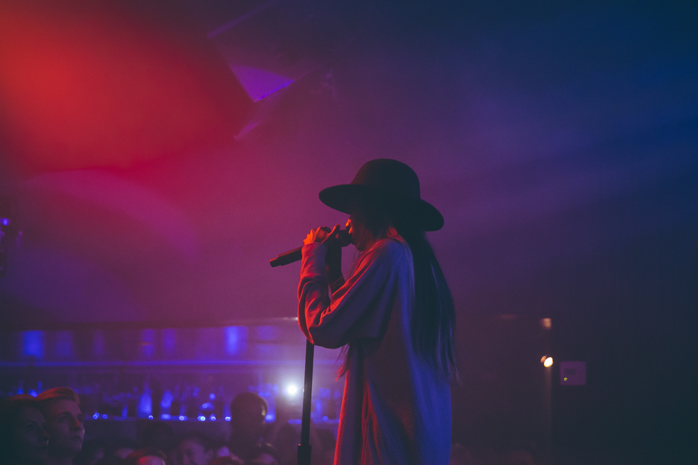 Angel Haze performs live at The Echo. / Photo: © Kayla Reefer for SUSPEND Magazine
