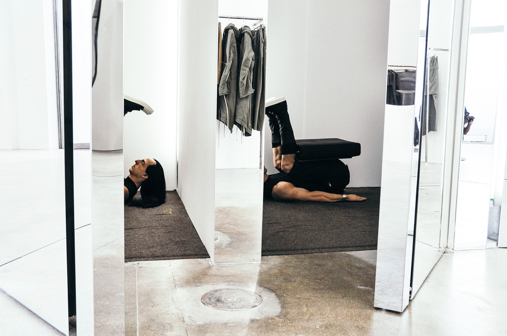 Rick Owens flagship store on La Brea Ave in Los Angeles. / Photo: © Arthur W. Booker IV for SUSPEND Magazine