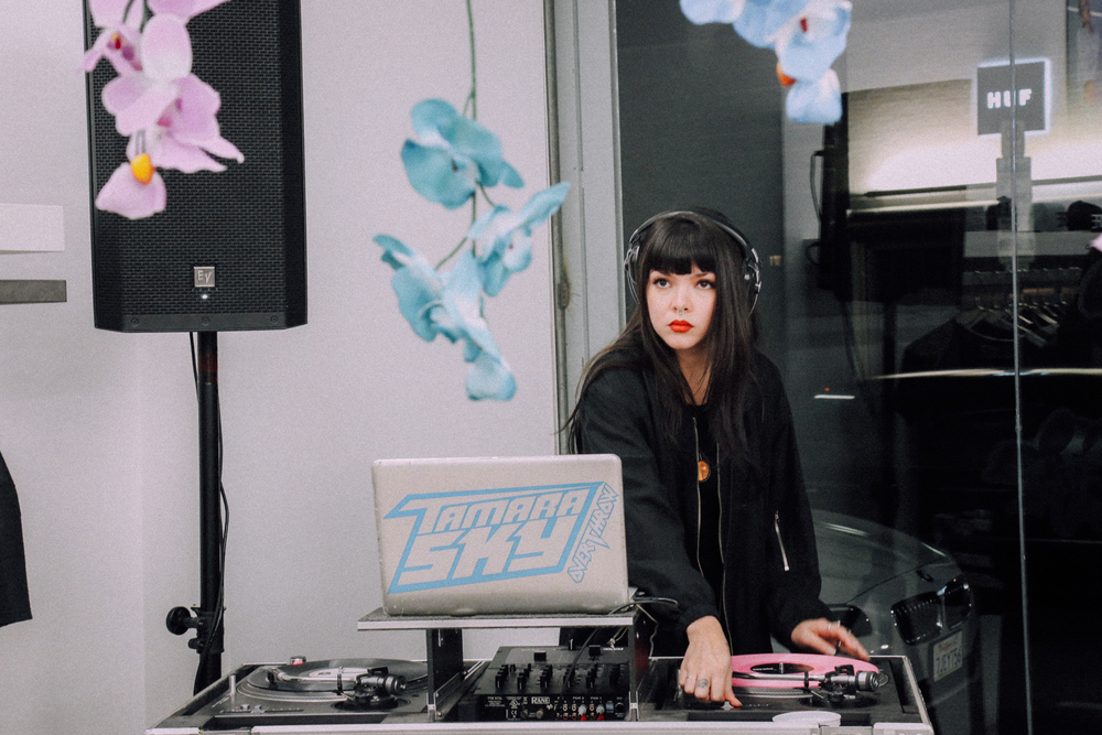 DOPE Women launch at DOPE Fairfax on October 8th with DJ Tamara Sky. / Photo: © Angella Choe for SUSPEND Magazine