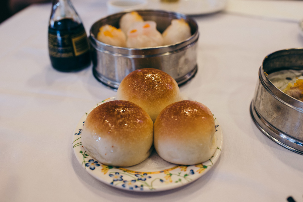 GIMFS: Ocean Seafood in Chinatown. Baked BBQ Pork Buns. / Photo: © Diane Abapo for SUSPEND Magazine