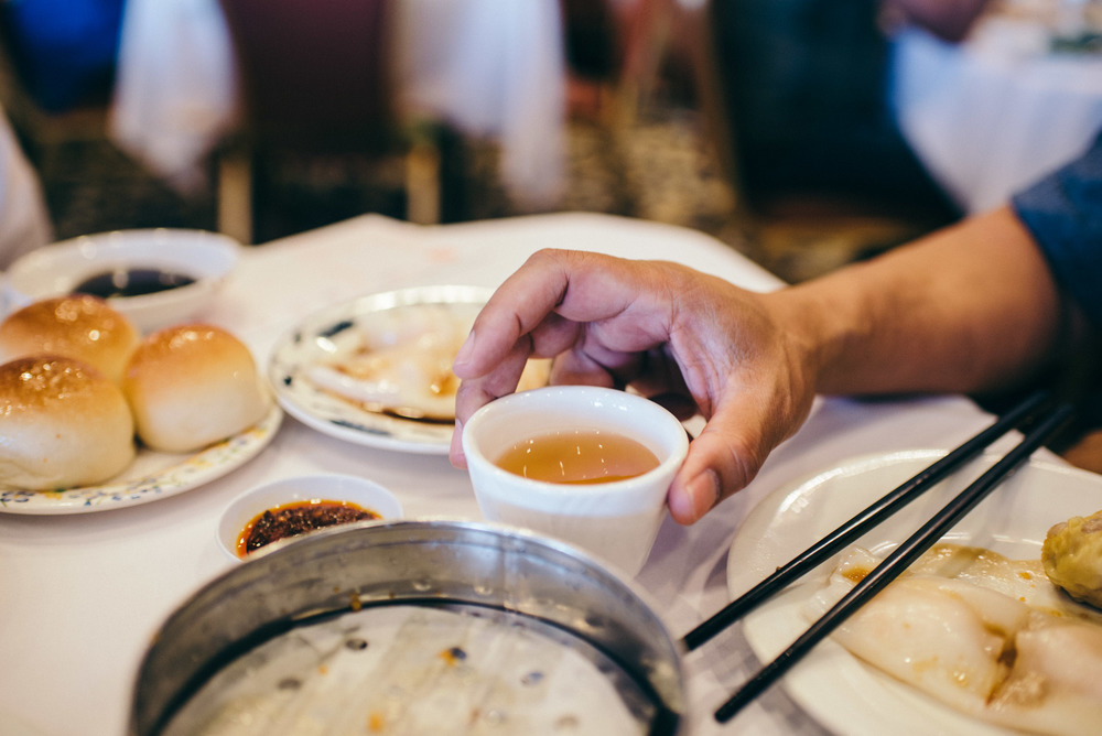 GIMFS: Ocean Seafood in Chinatown. Staple tea. / Photo: © Diane Abapo for SUSPEND Magazine