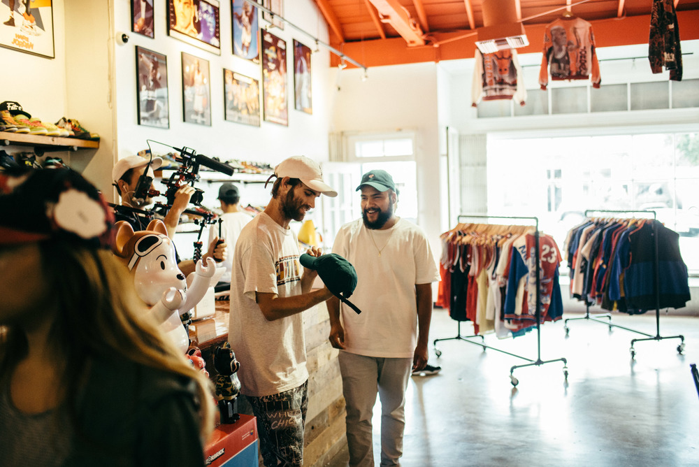 Round Two Hollywood owner, Sean Wotherspoon, at the shop on Melrose Ave. / Photo: © SUSPEND Magazine