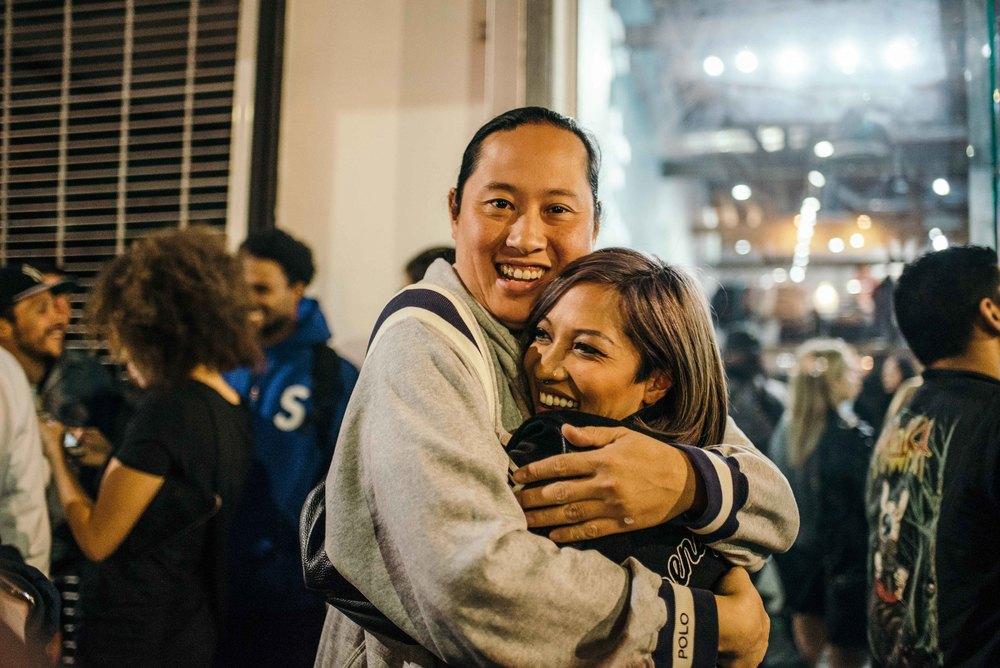 Ricky Li and Leslie Corpuz on Fairfax. / Photo: © Diane Abapo for SUSPEND Magazine.