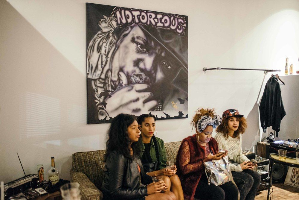At the Apt. 4B Grand Opening on Fairfax. / Photo: © Diane Abapo for SUSPEND Magazine.