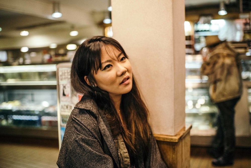 Obligatory trip to Canter's Deli to end the night on Fairfax. Pictured: Christy J. Kim. / Photo: © Diane Abapo for SUSPEND Magazine.