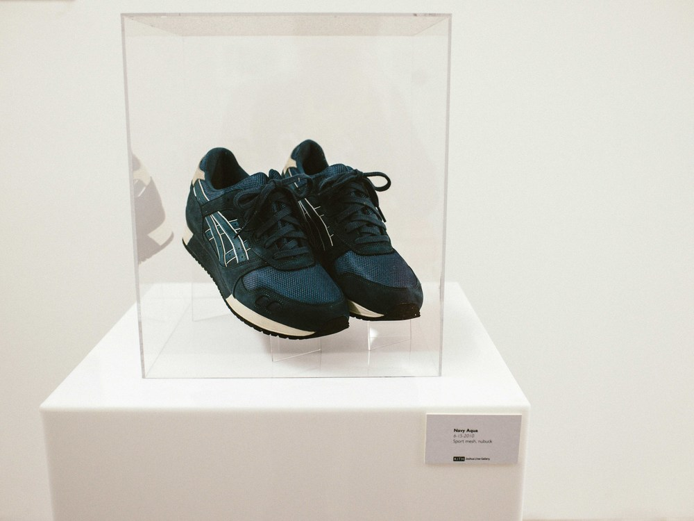 Navy Aqua  by Ronnie Fieg (06-15-2010). Sport mesh, nubuck. / Photo: © Diane Abapo for SUSPEND Magazine.