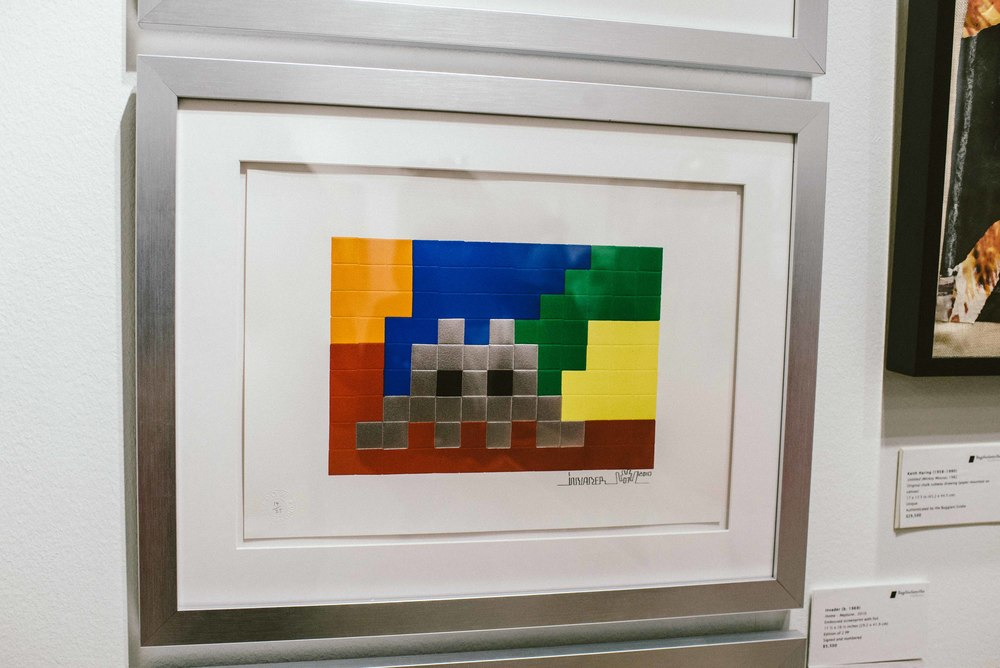 Space Invader at Scope Art Fair 2015. / Photo: © Diane Abapo for SUSPEND Magazine.