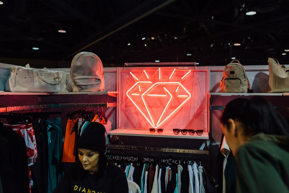 Diamond Supply Co. at Agenda Long Beach. / Photo: © Kayla Reefer for SUSPEND Magazine.
