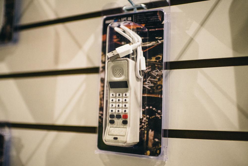 "Wattz Up Power ""TheBrickPhone"" launch at Apt 4B on Fairfax. / Photo: © Diane Abapo for SUSPEND Magazine."