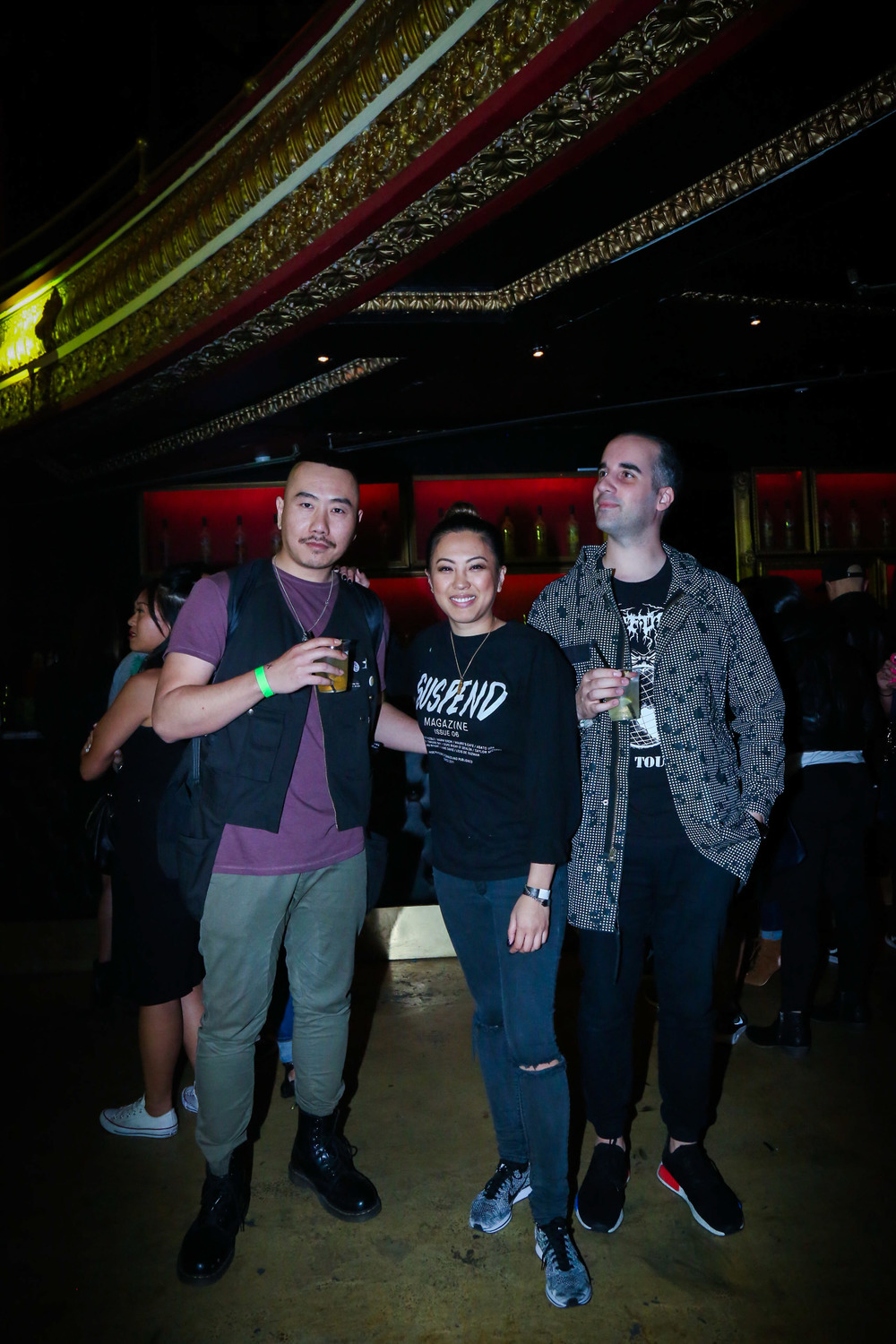 Benny BeStreet (right) with EIC Diane Abapo at the ISSUE 06 Release Party x HLZBLZ 10-Year Anniversary (Feb 11). / Photo: © Angella Choe for SUSPEND Magazine