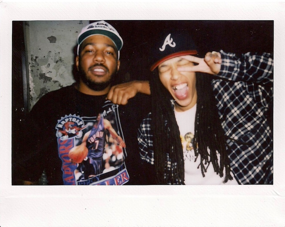 Chuck Inglish and DJ Osh Kosh at the 1-year A/S/L Anniversary at The Lash (Feb 17). / Photo: © Obi O. at FriendsOnly™
