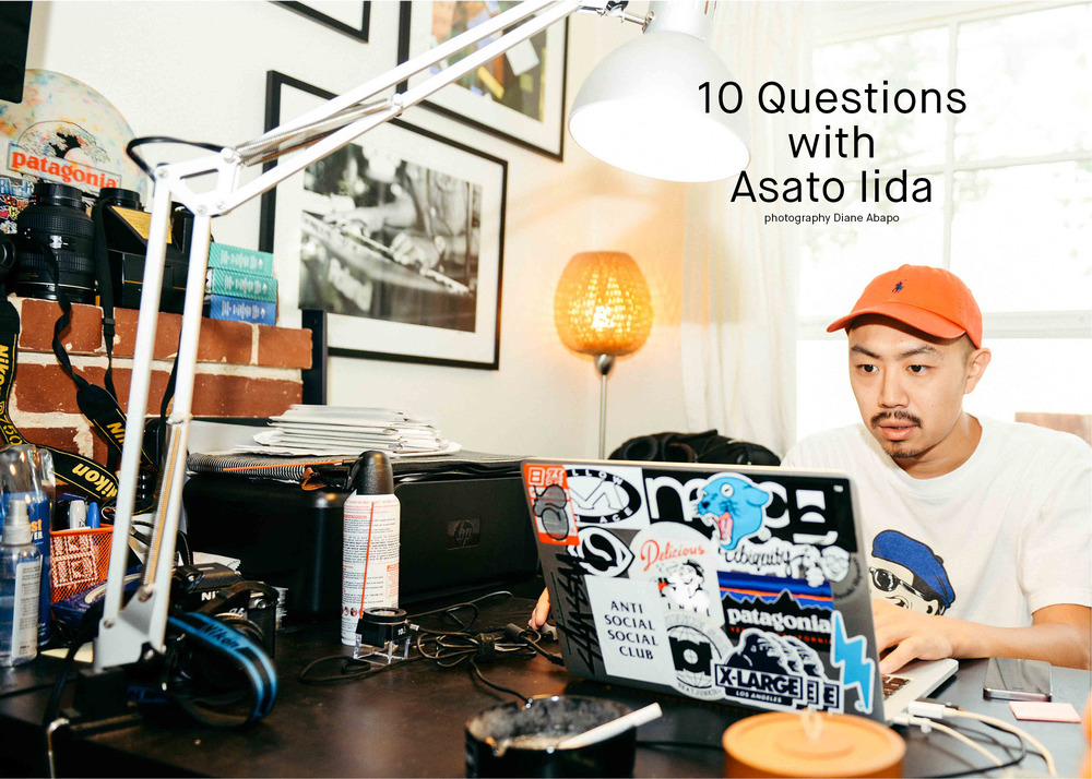 "Asato Iida's published ""10 Questions"" feature in SUSPEND Magazine ISSUE 06 (Feb 2016) conducted by Diane Abapo."