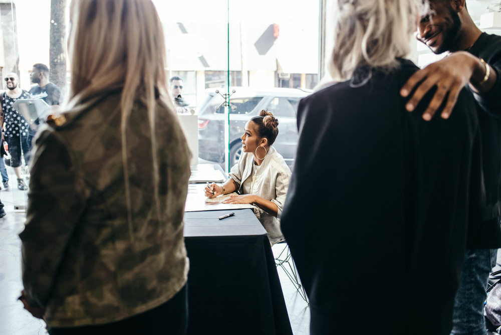 Cassie in-store signing for Diamond Womens at Diamond Supply Co. on Fairfax (Feb 27). / Photo: © Diane Abapo for SUSPEND Magazine